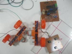 Line tracking robots