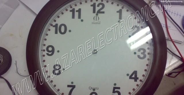 ساعت با LED